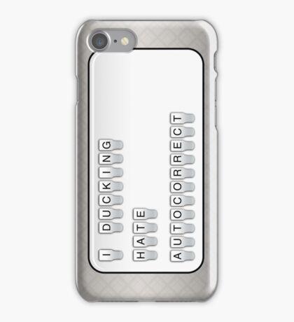 autocorrect iPhone Case/Skin