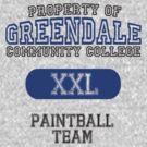 Greendale paintball team by ManofSmallTasks