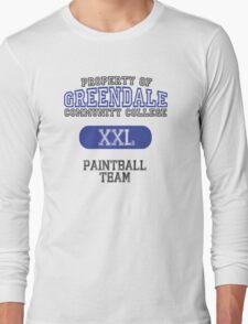 Greendale paintball team Long Sleeve T-Shirt