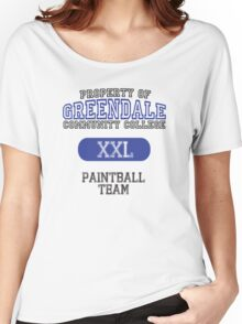 Greendale paintball team Women's Relaxed Fit T-Shirt