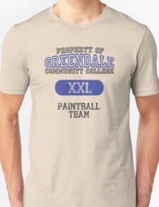 Greendale paintball team T-Shirt