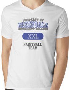 Greendale paintball team Mens V-Neck T-Shirt
