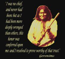 Geronimo II by Kevyn Paul Eisenman