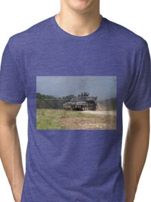 British Army Challenger 2 Main Battle Tank  Tri-blend T-Shirt