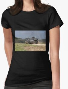 British Army Challenger 2 Main Battle Tank  Womens Fitted T-Shirt