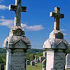 Two Crosses by Tamara Valjean