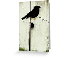 Early Bird  - JUSTART ©  Greeting Card