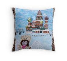 Earth Angels From Cultures Around The World Throw Pillow