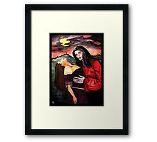 Blood For The Damned Framed Print