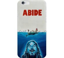The Big Lebowski Abide Jaws iPhone Case/Skin
