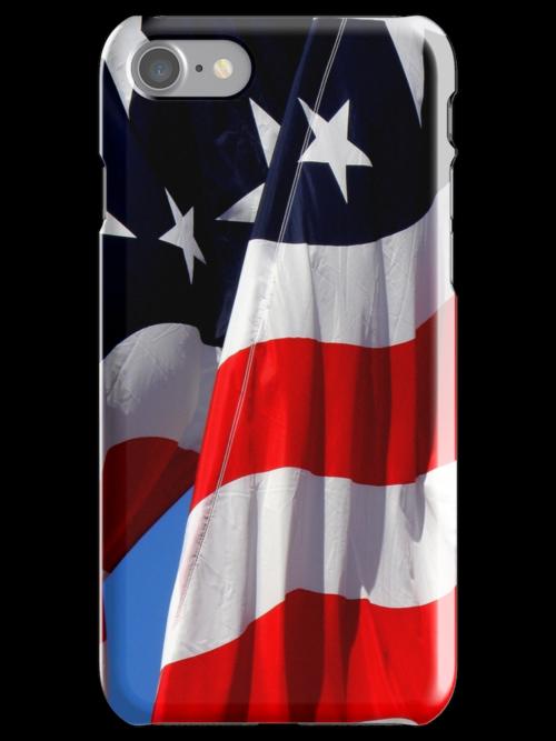 Patriotic iPhone Case by artisandelimage