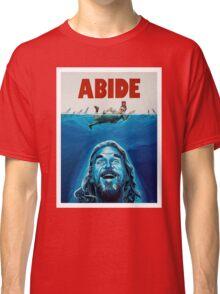 The Big Lebowski Abide Jaws Classic T-Shirt