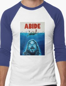 The Big Lebowski Abide Jaws Men's Baseball ¾ T-Shirt