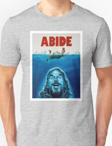 The Big Lebowski Abide Jaws T-Shirt