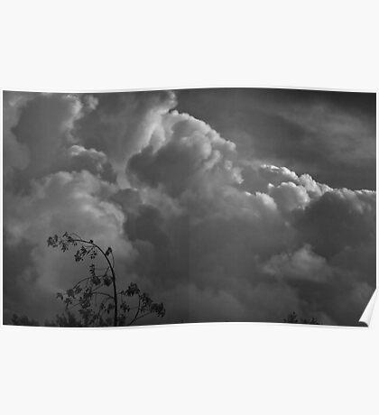 Threatening Sky Poster