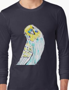 Budgie in Love Long Sleeve T-Shirt