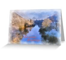 Seasons Greetings Severn Gorge Greeting Card