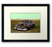 Who Popped my Lights Out? Framed Print