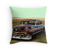 Who Popped my Lights Out? Throw Pillow