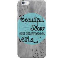 Beautiful Scars iPhone Case/Skin