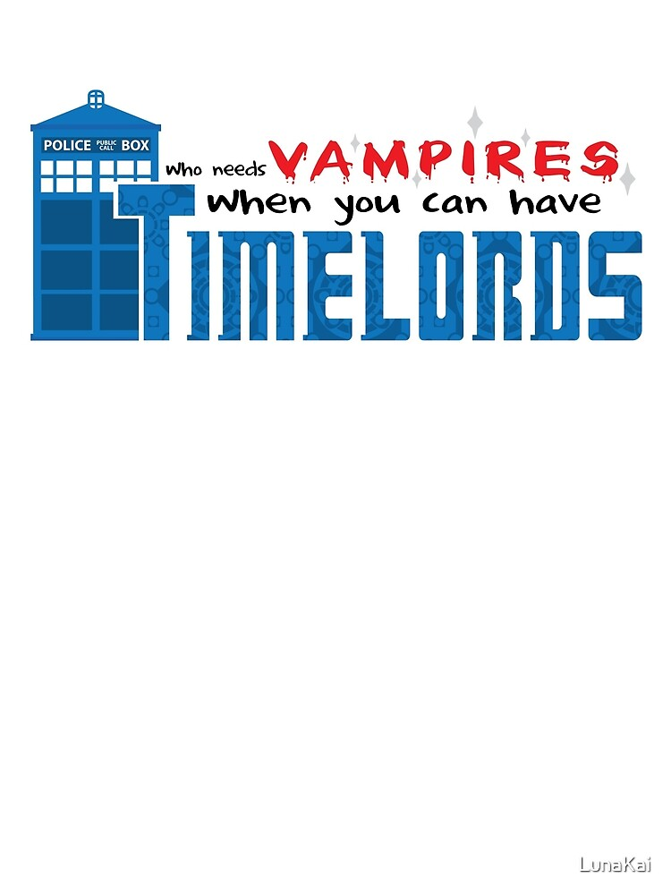 Time Lords over Vampires by LunaKai