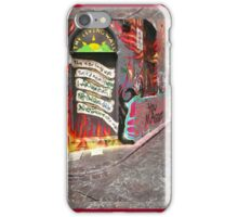 The Living Wall ~ Melbourne Graffiti iPhone Case/Skin