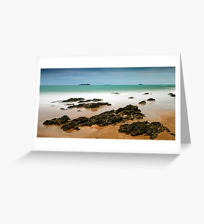 Emerald Shore Greeting Card