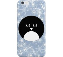 Snowy Penguin iPhone Case/Skin