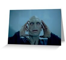 voldemort 2 Greeting Card