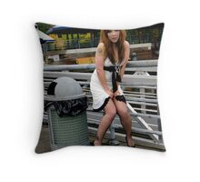 Trashed for you Throw Pillow