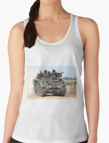British Army FV103 Spartan Armoured Personnel Carrier Women's Tank Top