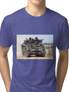 British Army FV103 Spartan Armoured Personnel Carrier Tri-blend T-Shirt