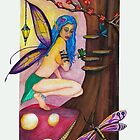 Fairy Queen of the Dragonflies by Sandra Gale