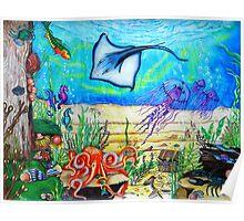 Fantasy Under The Sea Poster
