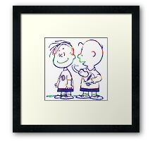 Ain't no time to hate Framed Print