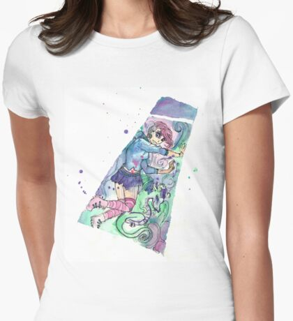 Magic As I Am Womens Fitted T-Shirt