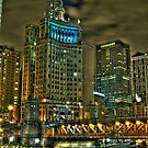 Chicago Night (two) by Mariano57