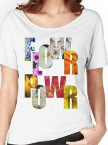 flower power t Women's Relaxed Fit T-Shirt