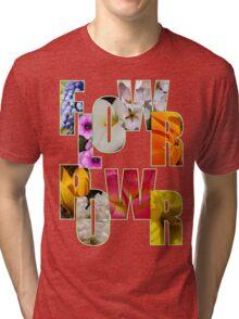 flower power t Tri-blend T-Shirt
