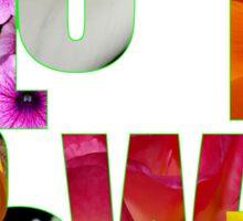 flower power t Sticker