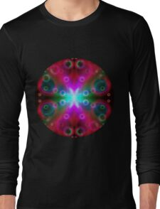 Bubbles Bokeh Effect Long Sleeve T-Shirt
