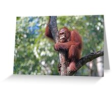 Hunched Greeting Card