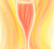 Golden Delight in a Glass by Nicole Isaacs