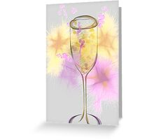 Champagne Fizz Greeting Card