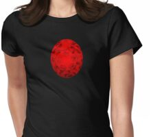 Red Energize Womens Fitted T-Shirt