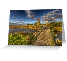 Autumn Scape IV Greeting Card