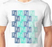 Tile 'em up Blue  Unisex T-Shirt