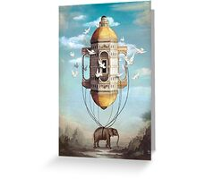 Imaginary Traveler Greeting Card