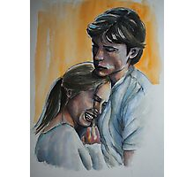 Sarah Carter andTom Welling Photographic Print