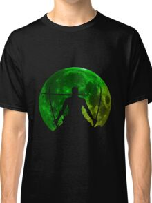 one piece straw hat roronoa zoro moon anime manga shirt Classic T-Shirt